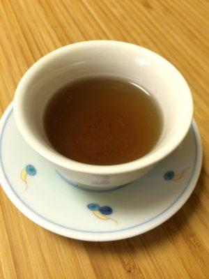 恒例のシソ仕事②茶編